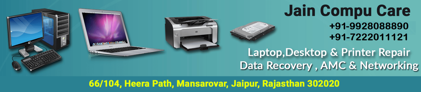 Laptop Repair in Jaipur